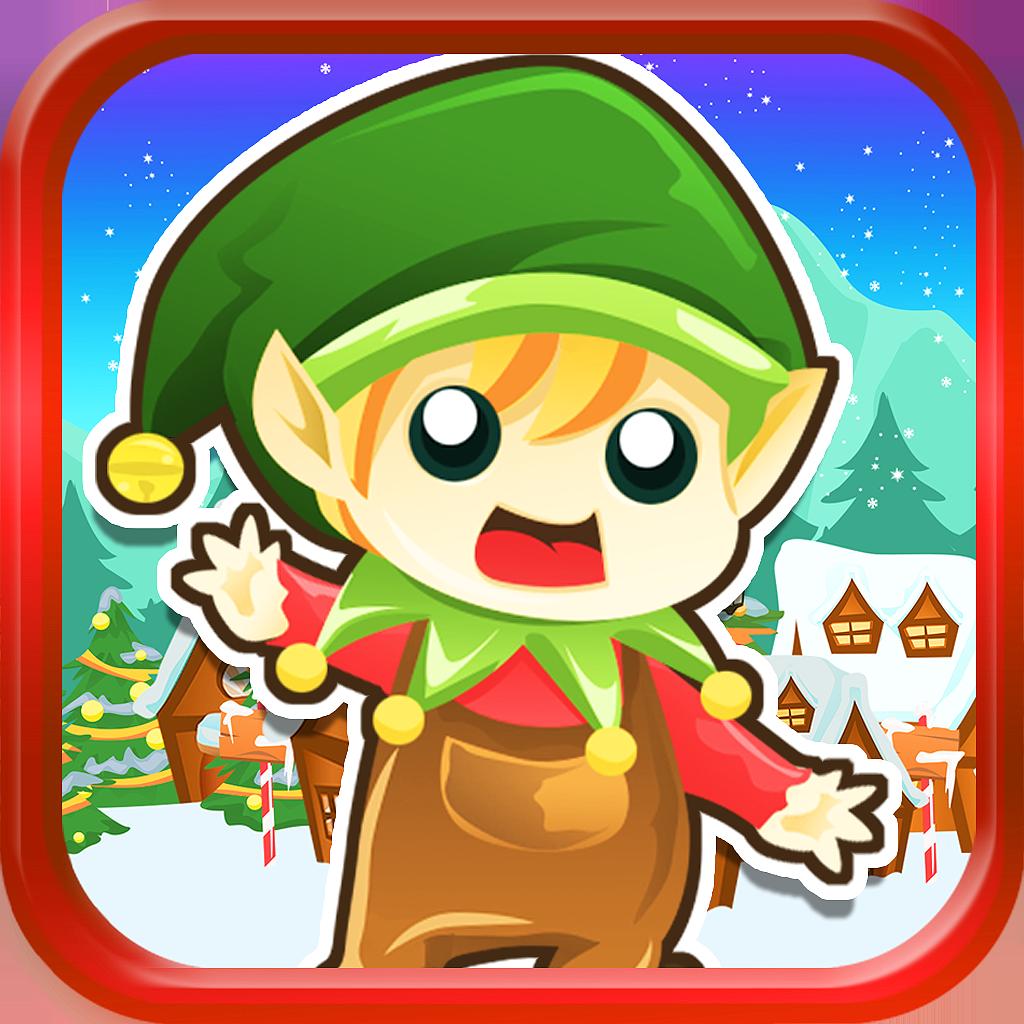 Super Elf Worlds Free: Santa Rescue Jump