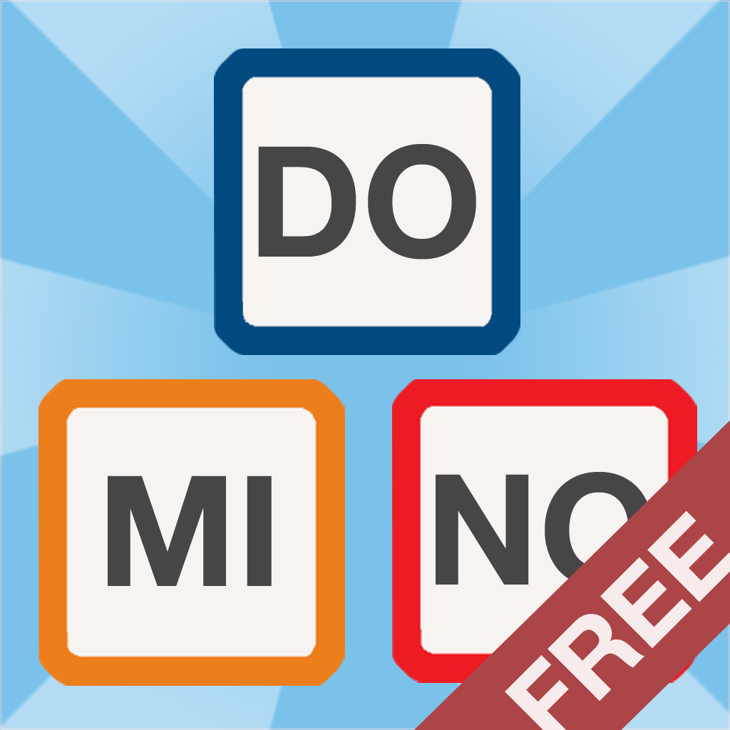Word Domino Free – Letter games for kids and the family (spelling, vocabulary)